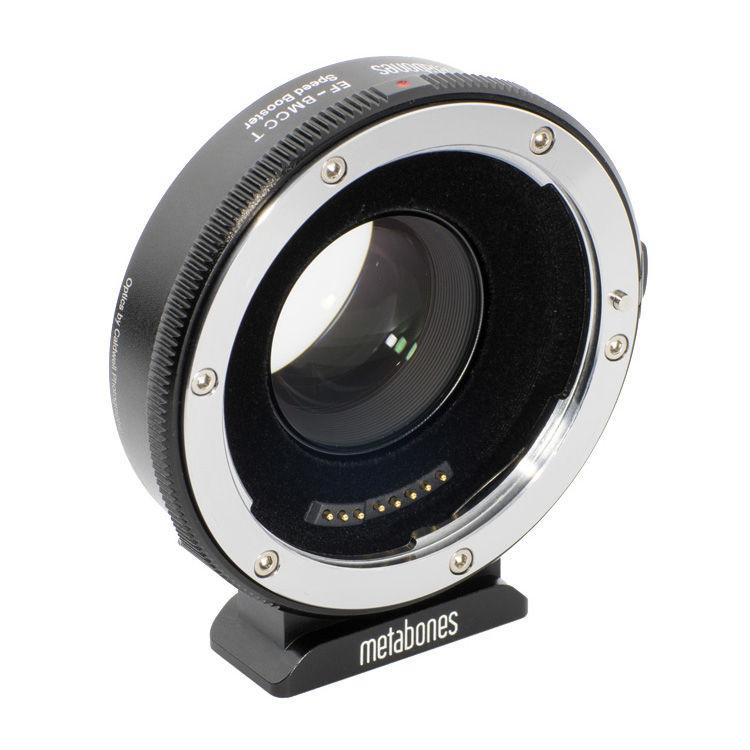 Metabones Canon EF Lens to Blackmagic 2 5k Cinema Camera T Speed Booster  (Micro 4/3 Mount)
