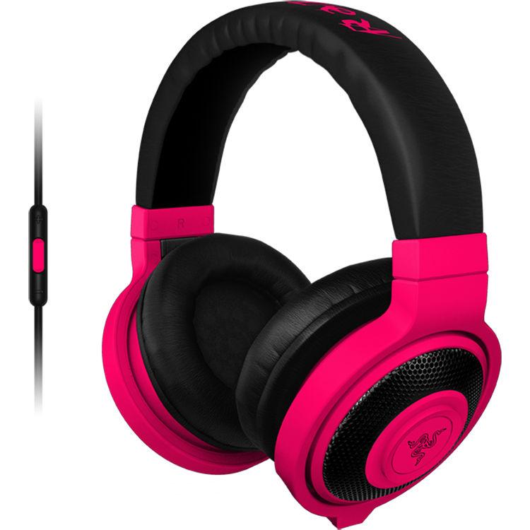 half price wholesale sales discount sale Razer Kraken Mobile Headphones (Neon Red) RZ04-01400300-R3U1 B&H