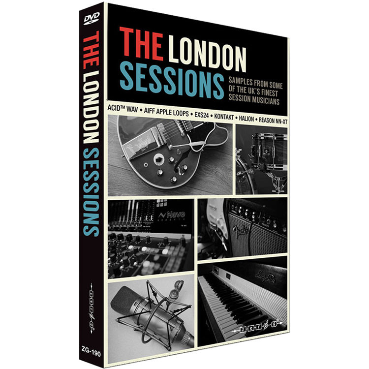 Zero-G The London Sessions Sample Library (Electronic Download)