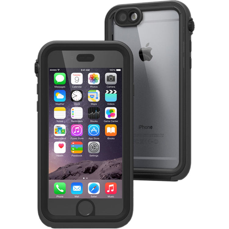 newest 73bbc 9153b Catalyst Case for iPhone 6/6s (Black/Space Gray)