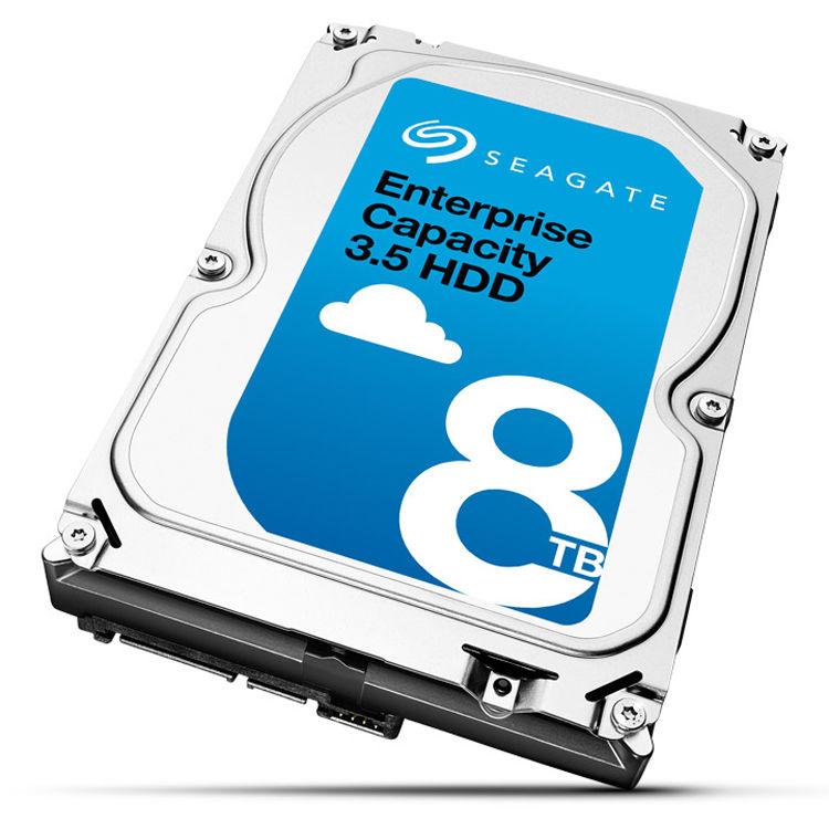 Seagate Enterprise Capacity 3.5/'/' HDD 8TB 7200 RPM 512e SAS 12Gb//s 256MB Cache I