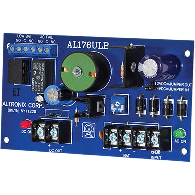 ALTRONIX Switching Power Supply Board (12 / 24 VDC, 1 75A)