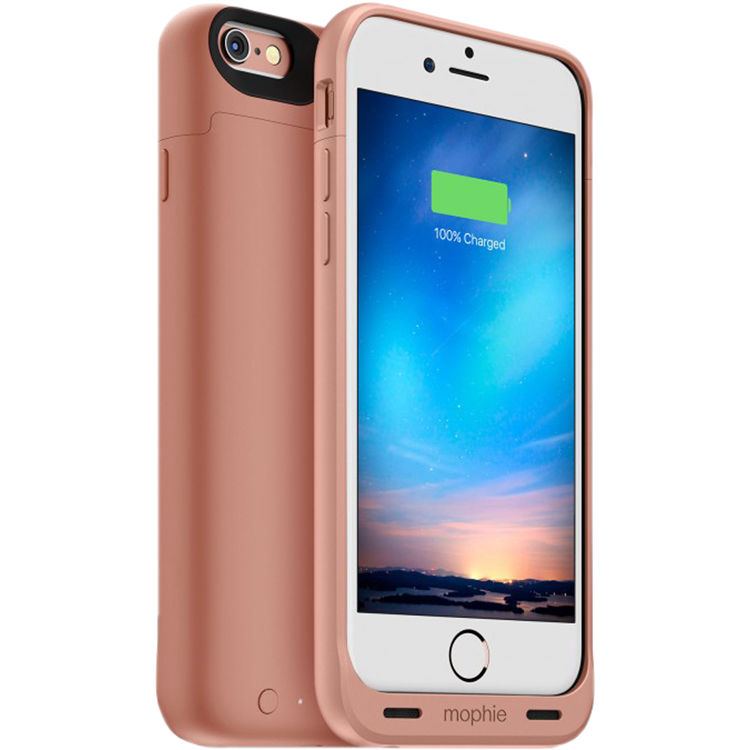promo code c3ab1 abc3b mophie juice pack reserve Battery Case for iPhone 6/6s (Rose Gold)