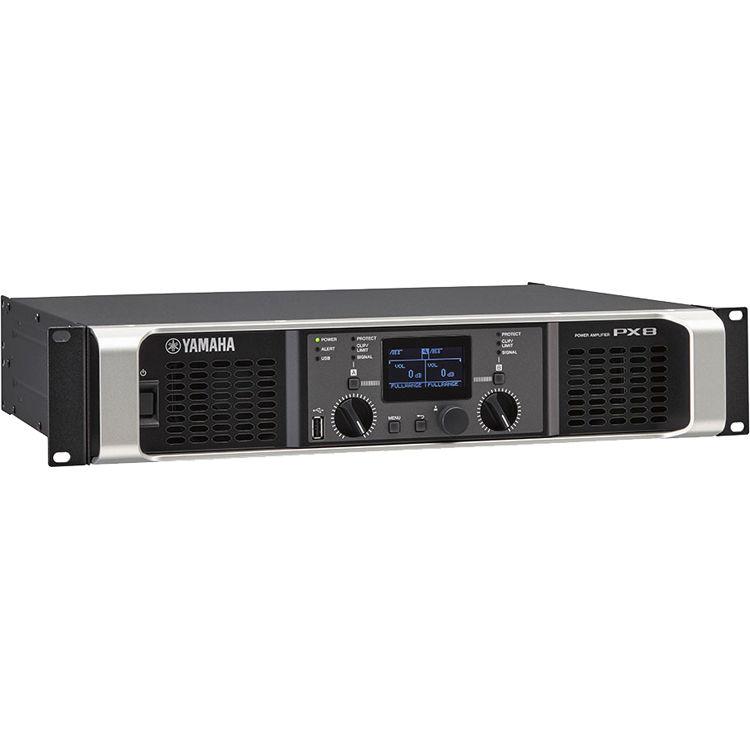 Yamaha PX8 Class D Versatile Power Amplifier