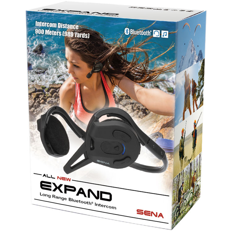Sena Expand Long Range Bluetooth Intercom Stereo Expand 02