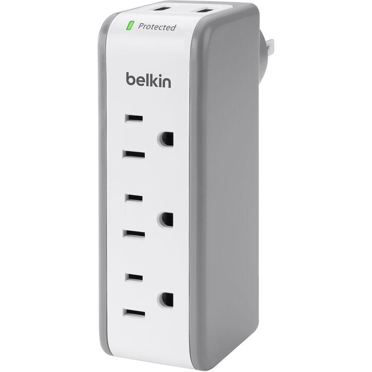 Belkin 3-Outlet Mini SurgePlus Protector