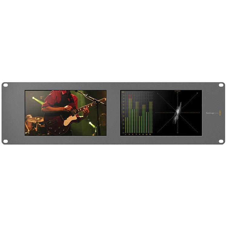 Blackmagic Design Smartscope Duo 4k Hdl Smtwscopeduo4k2 B H