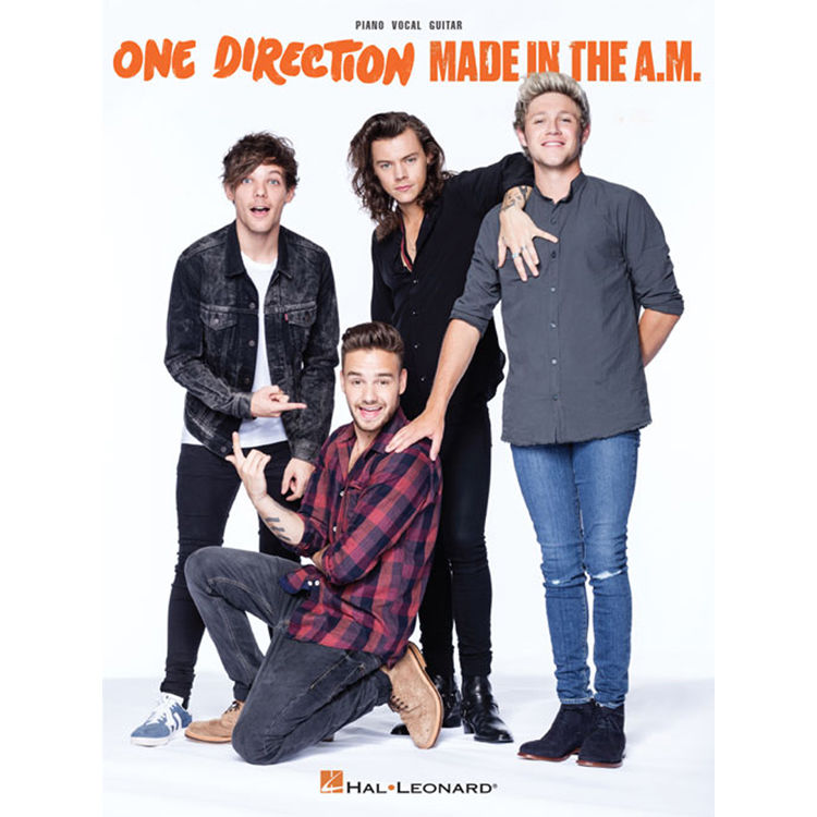 Hal Leonard Songbook: One Direction Made in the A M  - Piano/Vocal/Guitar  Arrangements (Paperback)
