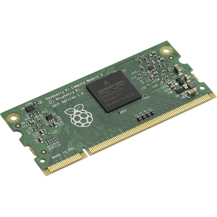 NEC Raspberry Pi Compute Module and Interface Board Bundle with Cooling Fan  & Vented Door Replacement