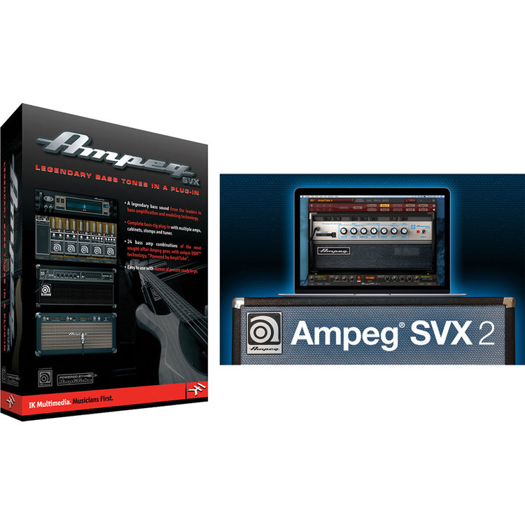 Ik Multimedia Ampeg Svx 1 2 Bundle Ap Svx12 Did In B H