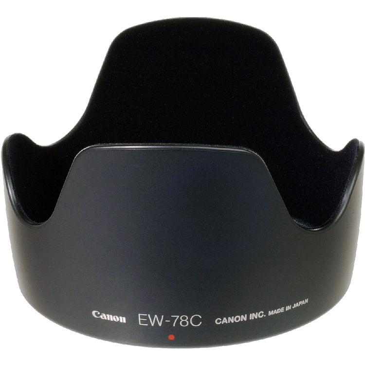 Plastic Bayonet Mount Lens Hood for Canon EF 35mm F1.4L USM Camera Lens. Vbestlife EW-78C Lens Hood Set