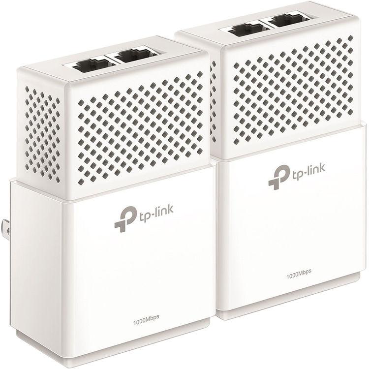 TP-Link AV1000 2-Ports Gigabit Powerline ethernet Adapter kit TL-PA7020 KIT/_V2 Powerline speeds up to 1000 Mbps