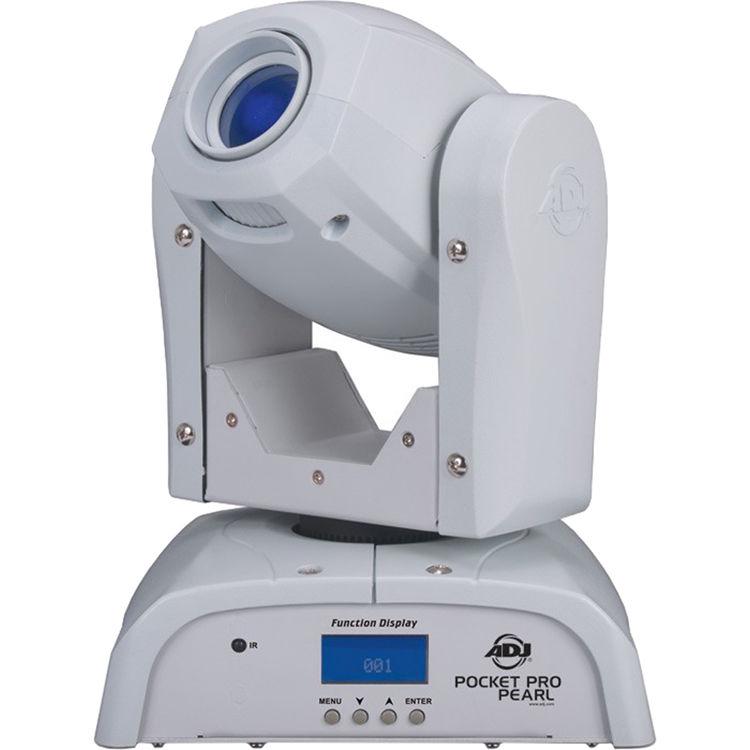 American DJ Pocket Pro Pearl - Compact LED Moving Head Light (White)