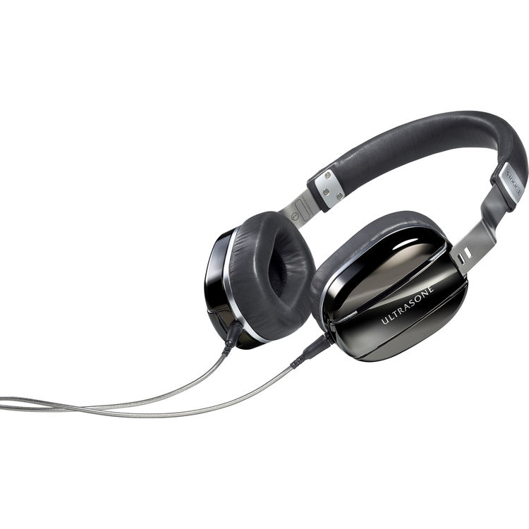 Ultrasone Edition M Black Pearl On-Ear Mobile Headphones