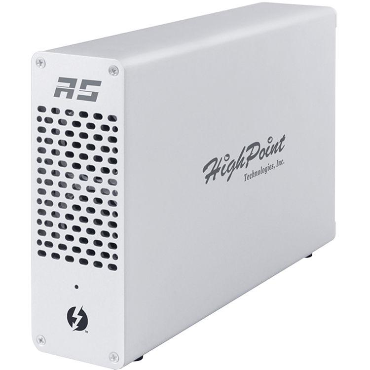 HighPoint RocketStor 6661A-4USB Thunderbolt 3 to USB 3 1 Gen 2 Adapter