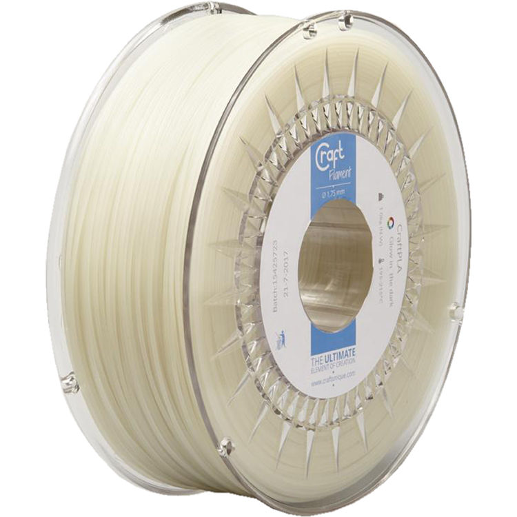 CraftBot 1 75mm ABS-X Filament (1kg, White)