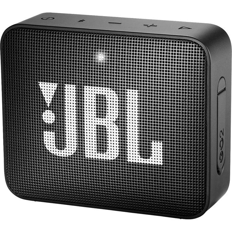 Jbl Go 2 Portable Wireless Speaker Midnight Black Jblgo2blkam
