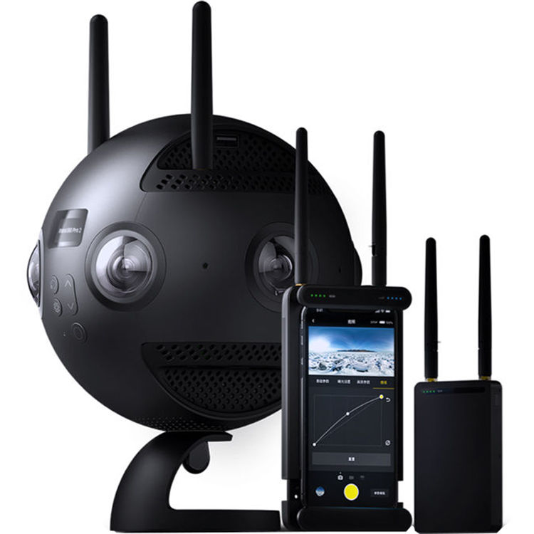 Insta360 Pro II Spherical VR 360 8K Camera with FarSight Monitoring