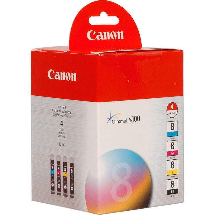 4-Pack Yellow Ink Cartridge for Canon PIXMA Pro9000 Mark II IP4500 MX850 Printer