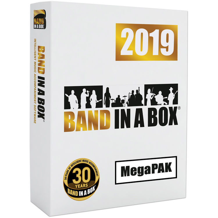 eMedia Music Band-in-a-Box 2019 Pro - Automatic BBE19692DL B&H
