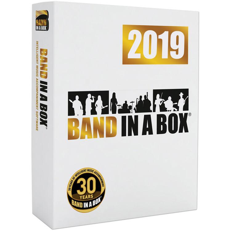 eMedia Music Band-in-a-Box 2019 Pro - Automatic Accompaniment Software  (Windows, USB Flash Drive)