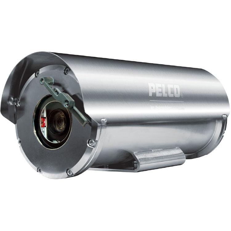 Pelco ExSite Enhanced 2MP Fixed Explosion-Proof Camera (110/240VAC)