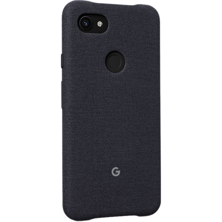 timeless design fd9bb e04d1 Google Custom-Knit Case for Pixel 3a (Carbon)