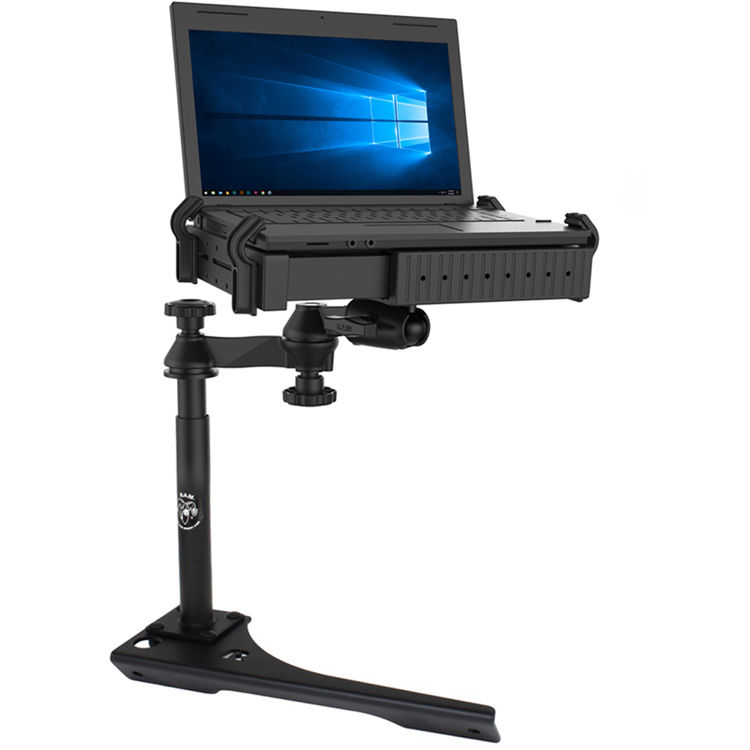 Automotive GPS Mounts RAM-VB-186ST1-SW1 RAM No-Drill Laptop Mount for 2019 RAM 1500-5000