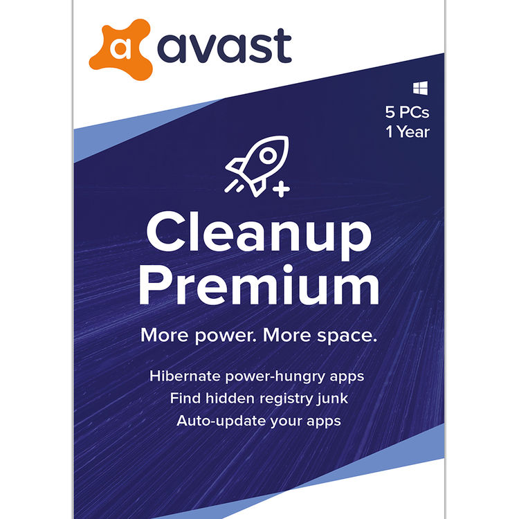 Avast Cleanup Premium 2020 Ava Cle20t12enk 05 B H Photo Video