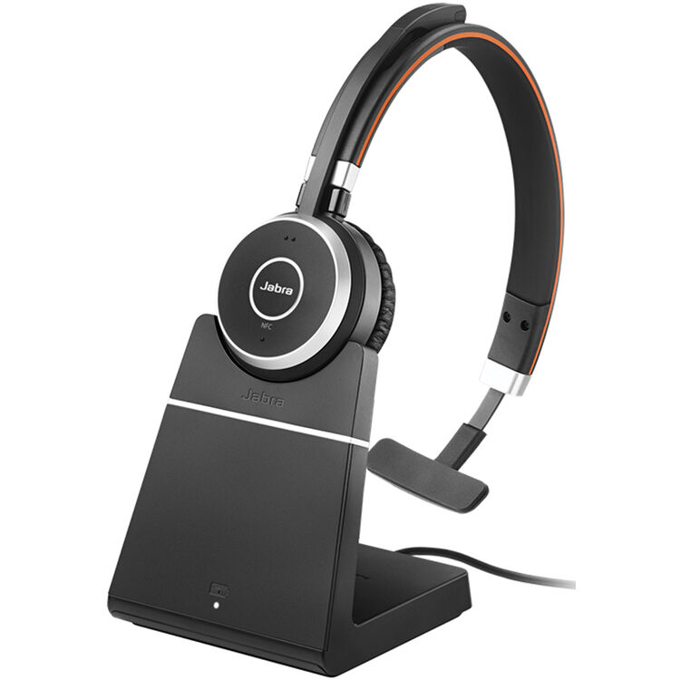 Jabra Evolve 65 Ms Mono Bluetooth Headset 6593 823 399 B H
