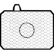 Olympus 1-4N Focusing Screen for OM-1 / OM-2 / OM-3 / OM-4 Series Cameras - Matte with Spot Metering Circle