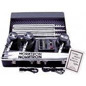 Novatron V400D Mini Pro 3-Light Kit, Umbrellas, Stands, Case