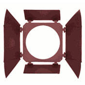 Mole-Richardson 4-Way/4-Leaf Barndoor Set for 12K Tungsten PAR