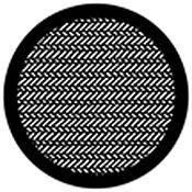 Rosco Standard Steel Gobo #78442B Denim (B = Size 86mm)