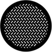 Rosco Standard Steel Gobo #78443B Diamond Grid (B = Size 86mm)