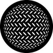 Rosco Standard Steel Gobo #78444B Diamond Sphere (B = Size 86mm)