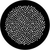 Rosco Standard Steel Gobo #78439B Egg Dots (B = Size 86mm)