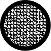 Rosco Standard Steel Gobo #78448B Old Screen (B = Size 86mm)