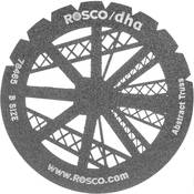 Rosco Standard Steel Gobo #78465B Abstract Jumble (B = Size 86mm)