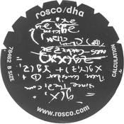 Rosco Standard Steel Gobo #78462B Calculation (B = Size 86mm)