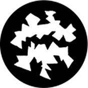 Rosco Standard Steel Gobo #78459B Maw (B = Size 86mm)