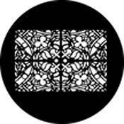 Rosco Standard Steel Gobo #78467B Window Grill (B = Size 86mm)