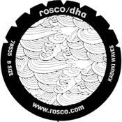 Rosco Standard Steel Gobo #78535B Kabuki Waves (B = Size 86mm)
