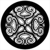 Rosco Standard Steel Gobo #78529B Soft Swirl (B = Size 86mm)