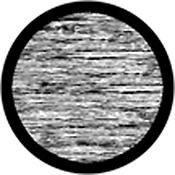 """Rosco Standard Black and White Glass Spectrum Gobo #81136 Static (86mm = 3.4"""")"""