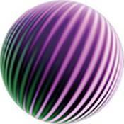 "Rosco Standard Color Glass Spectrum Gobo #86628 Emosphere Magenta (86mm = 3.4"")"