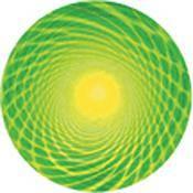 "Rosco Standard Color Glass Spectrum Gobo #86655 Acid Centrifuge (86mm = 3.4"")"