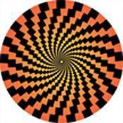 """Rosco Standard Color Glass Spectrum Gobo #86656 Harlequin Aperture (86mm = 3.4"""")"""