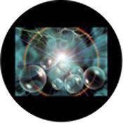 "Rosco Standard Color Glass Spectrum Gobo #86670 Celestial Storm (86mm = 3.4"")"