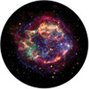 "Rosco Standard Color Glass Spectrum Gobo #86669 Chromatic Nebula (86mm = 3.4"")"